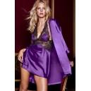 Spalna srajčka Navihanka vijolična