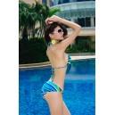 Bikini Strip Blue
