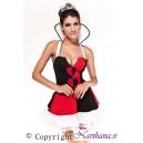 Kostum kraljica HeartBreaker Queen