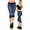 Jeans capri hlače Adele