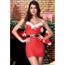 Kostum Božička Naughty Crhistmas
