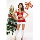 Kostum Božička Holiday Buckles Simple