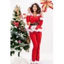 Kostum Božička Punky Santa