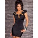 Obleka kratka  tunika Etenia  črna