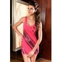 Mini oblekica Delilah Pink