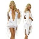 Kostum Angel Femme Fatal White