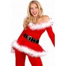 Kostum Božička Punk Santa